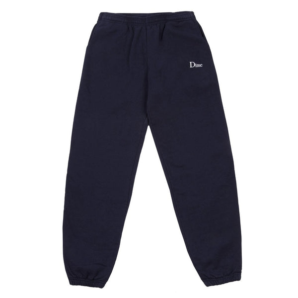 Dime Classic Embroidered Sweatpants Navy