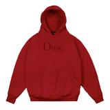 Dime Classic Logo Hoodie Red