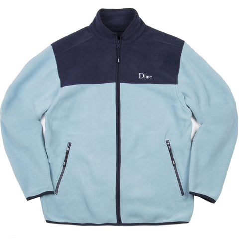Dime Fleece Jacket Blue
