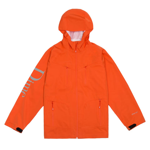 Dime Classic Logo Shell Jacket Orange