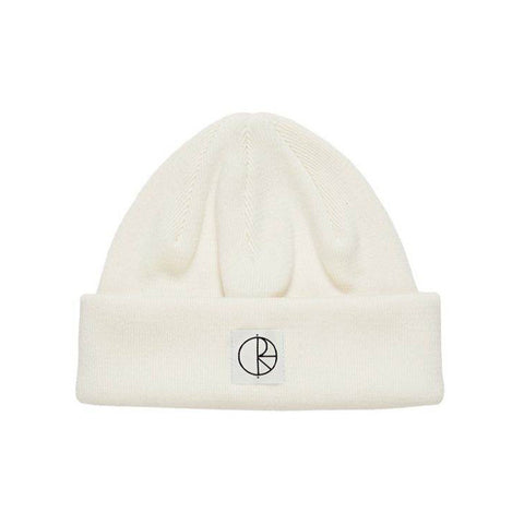 Double Fold Cotton Beanie Ivory