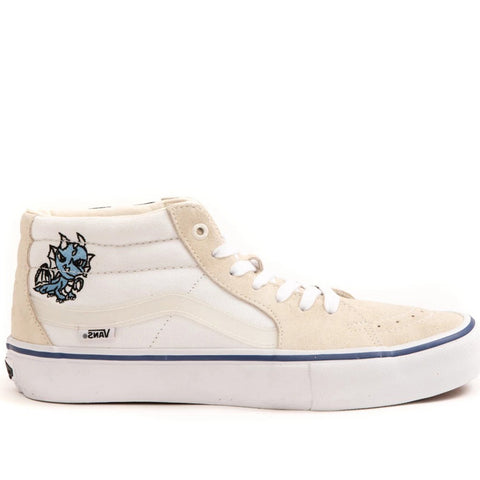 Sk8-Mid Pro LTD Alltimers True White