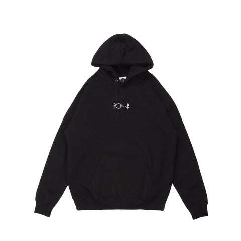 Default Hooded P/O Fleece Black
