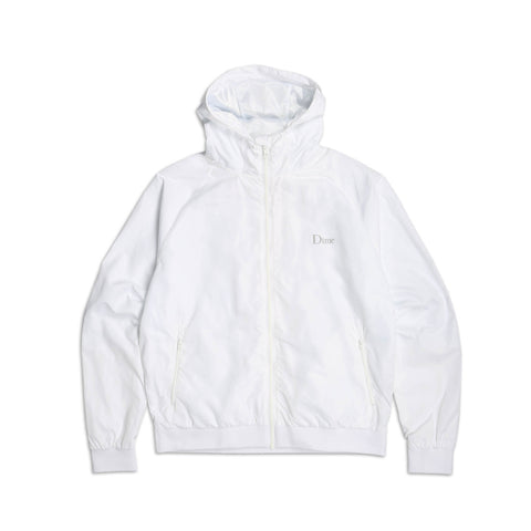 Dime Windbreaker White