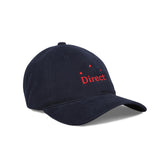 Direct Logo 6 Panel Navy Red