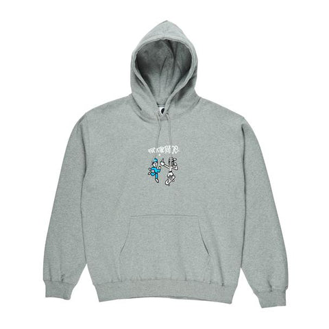 FTP Fleece Hoodie Heather Gray