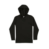Jed LS Hooded Pullover Black