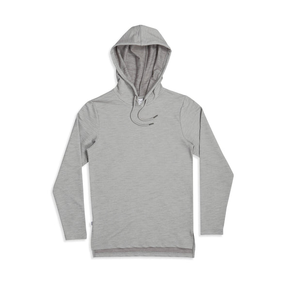 Jed LS Hooded Pullover Grey