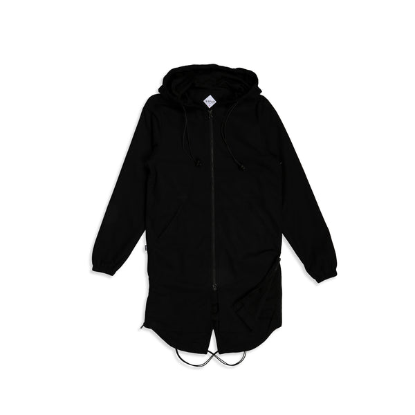 Oak Hooded Parka Black
