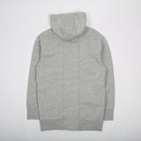 Foam Long Hood Sweat Grey Marle