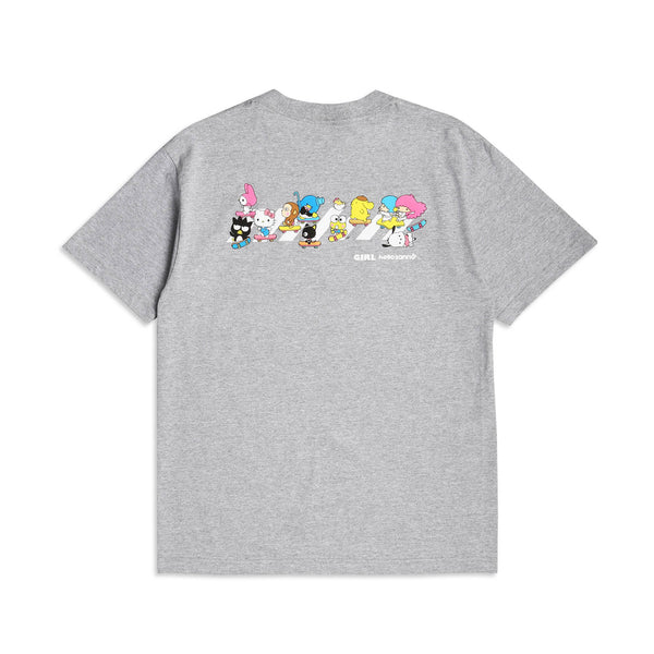 Hello Sanrio Crosswalk Heather Grey