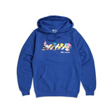 Hello Sanrio Crosswalk Hoodie Royal