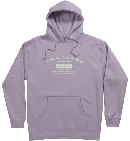Around The World Hoodie Lavender
