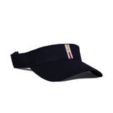 H Visor Navy Yellow Red