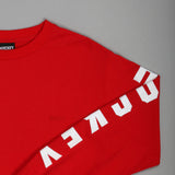 Hockey Logo Longsleeve Red