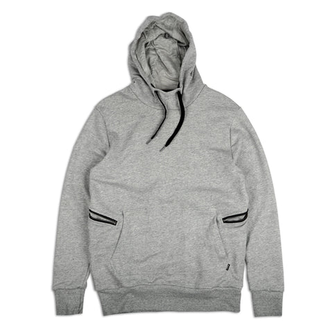 Hood Sweat Grey Marle