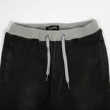 Salerno Rib Denim Black