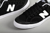 Pro Court 212 Black Suede Canvas