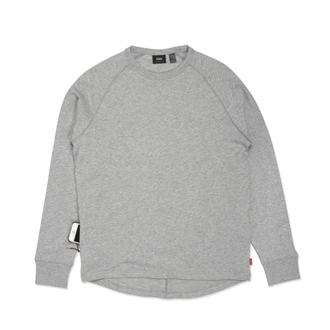 Commuter Longsleeve Raglan Heather Grey