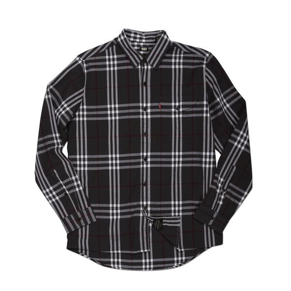 Skate Reform Shirt Graphite Plaid