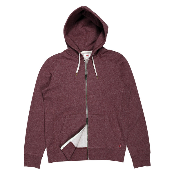 Original Zip Up Hoodie Port