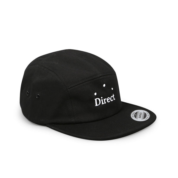 Direct Logo 5 Panel Black
