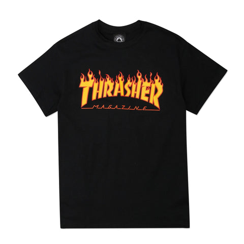 Flame Logo Black
