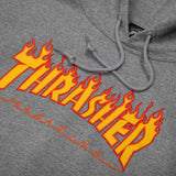 Flame Logo Pullover Grey