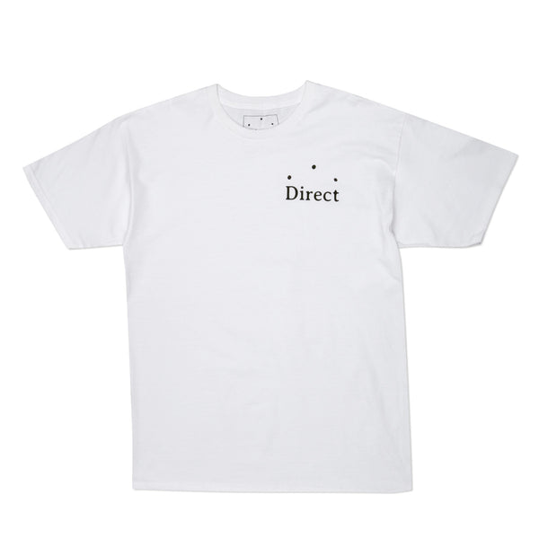 Direct Logo T-Shirt White
