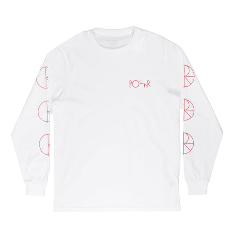 Racing Longsleeve White