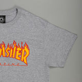 Flame Logo Grey