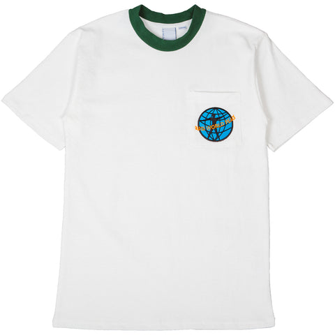 Quasi World Peace Pocket Tee Forest Green