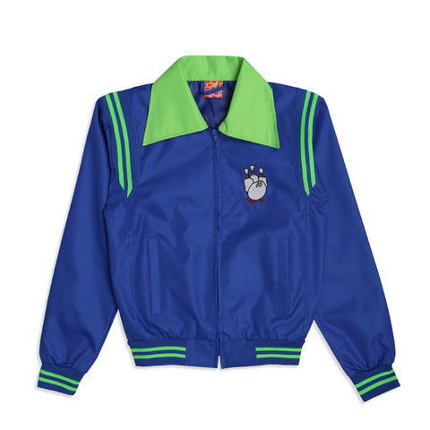 Bowling Alley Jacket Blue