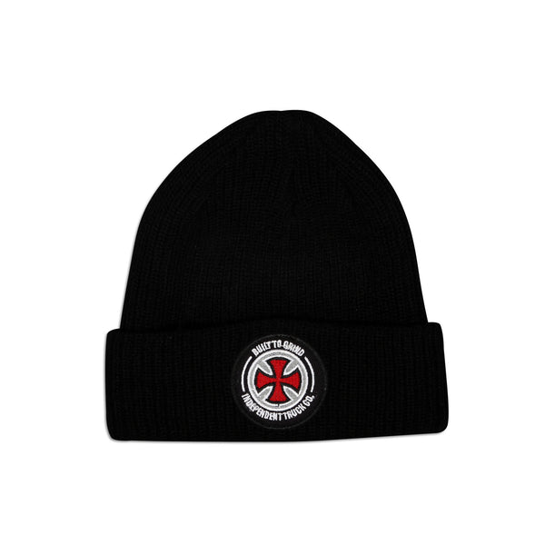 BTG Patch Beanie Black