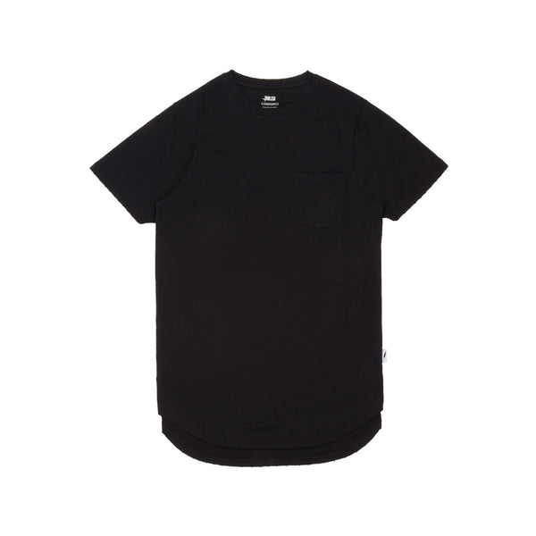 Index S/S Pocket Tee Knit Black