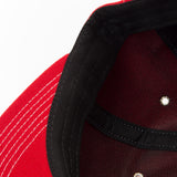 Jarry Polo Red Acrylic Wool Serge