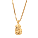 Jesus Necklace Gold