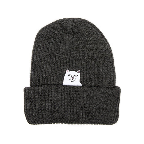 Lord Nermal Beanie Charcoal