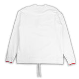 League Box LS Sweat White
