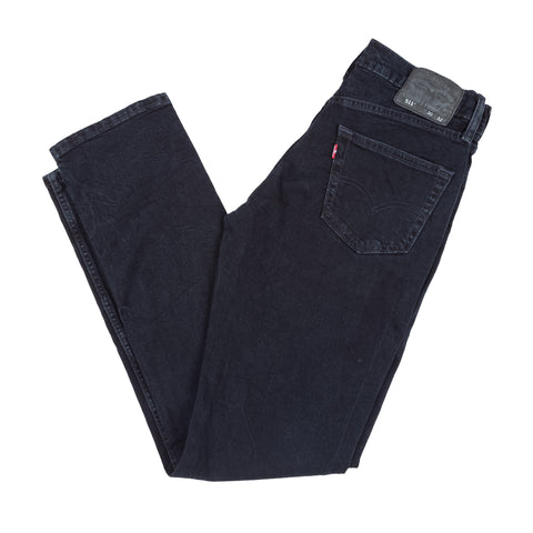 511 Slim Fit Link Indigo Black