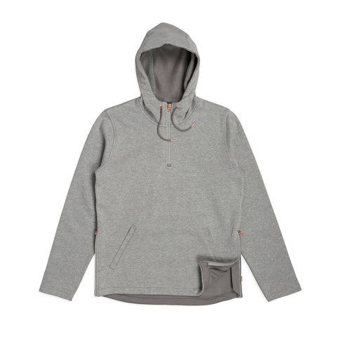 CM Half Zip Molleton Heather