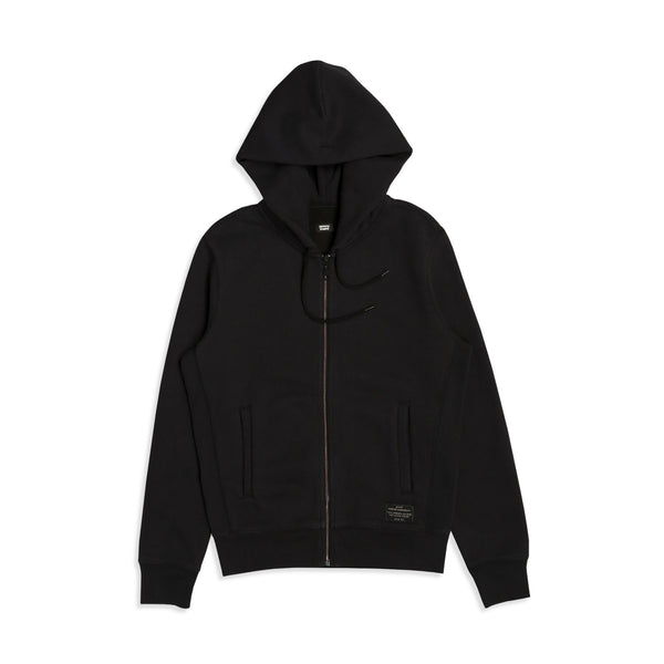 Skate Full Zip Jet Black X