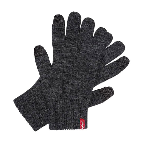Ben Touch Screen Gloves Charcoal