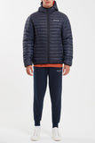 Inverti Jacket Deep Navy Burnt Ochre