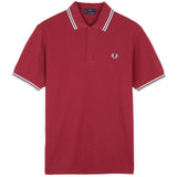 Twin Tipped Fred Perry Shirt England Red