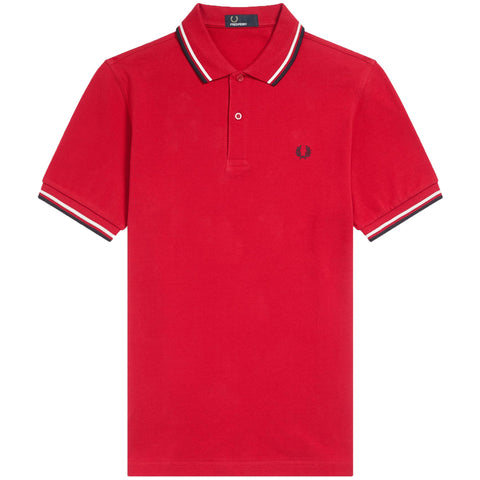 Twin Tipped Fred Perry Winter Red