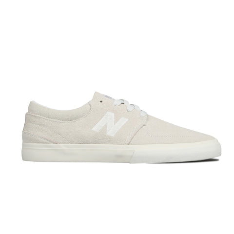 Brighton 344 White Suede
