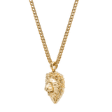 Lion Necklace Gold