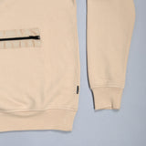 Zip Utility Sweat Sand