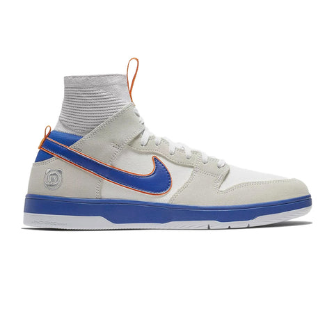 Zoom Dunk High Elite QS White College Blue White Gold Post